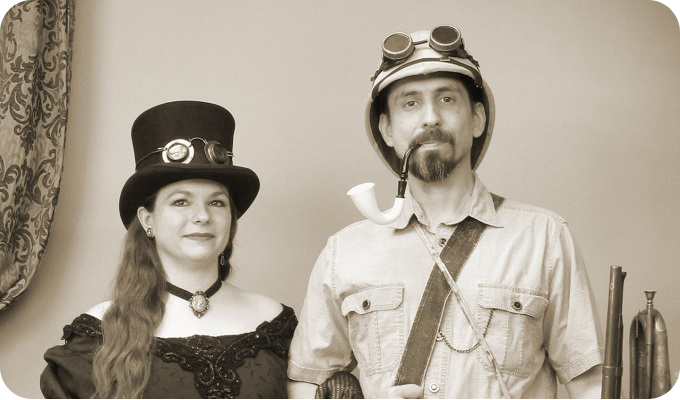 Just a couple of Steampunks...