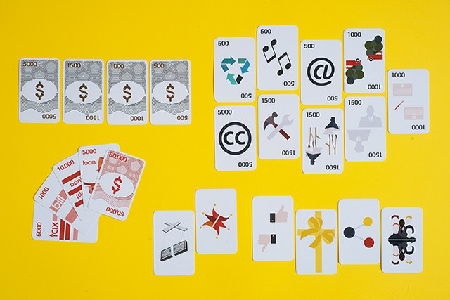 Smart Money Maker card game (photo: Danilo Franzini)