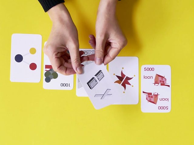A collaborative card game for 2-6 players to illustrate the rules of the New Economy