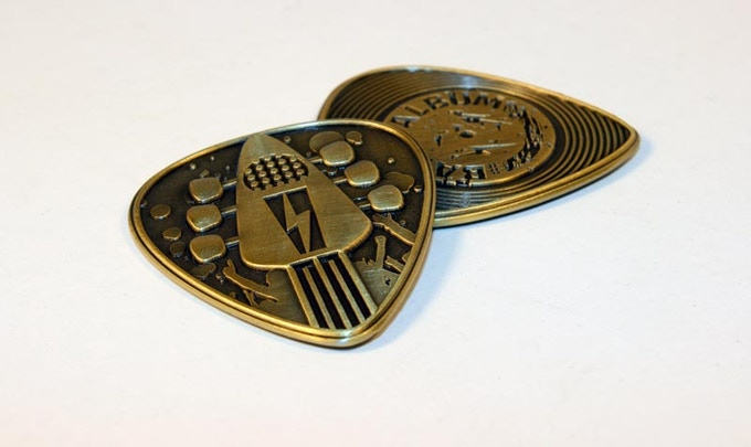 Band or Album collector coin manufacturing sample