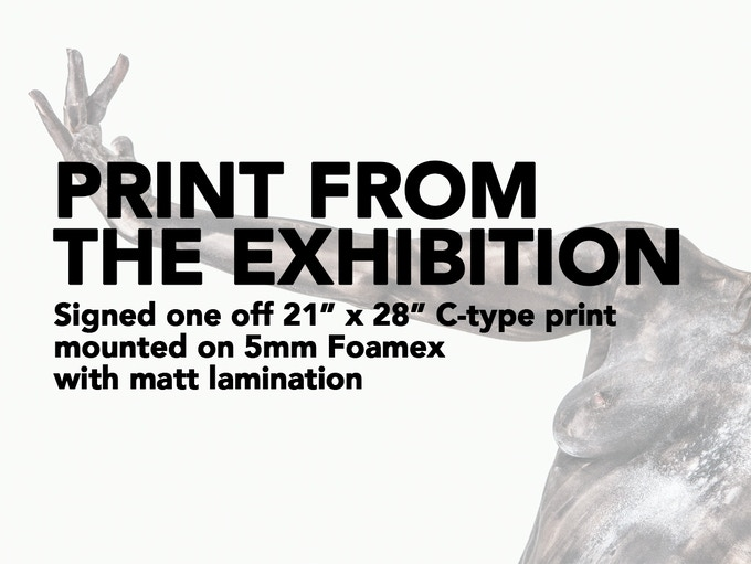 """£250 REWARD - 21"""" x 28"""" print from the actual exhibitions (Normally £430+). The most direct way you can support this project - buy one of the prints from the actual exhibition!"""
