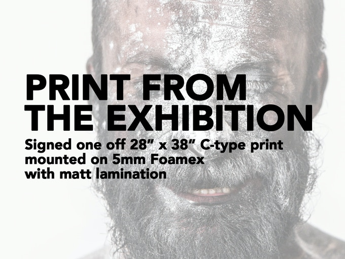 """£300 REWARD - 28"""" x 38"""" print from the actual exhibitions (Normally £530+). The most direct way you can support this project - buy one of the prints from the actual exhibition!"""