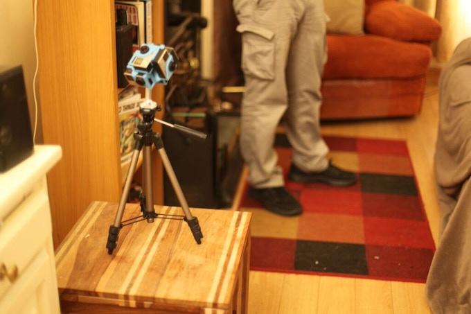 Camera Rig using 360Heros