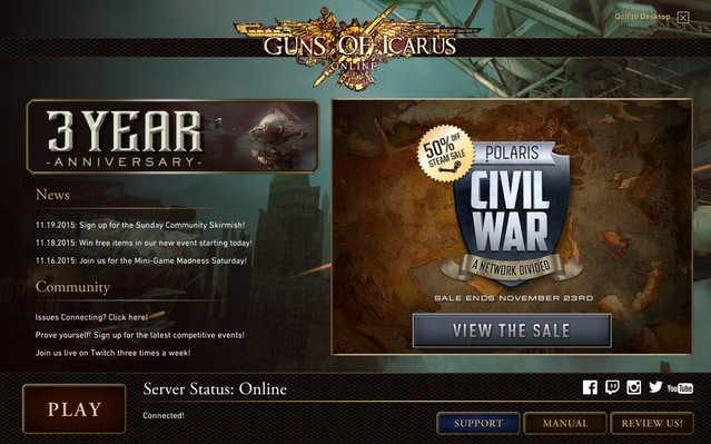 Guns of Icarus Online—Adventure Mode by Muse Games — Kickstarter