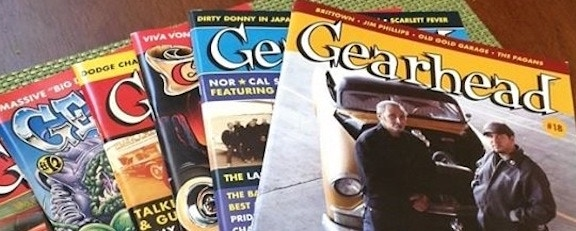 Previous Issues of Gearhead Magazine