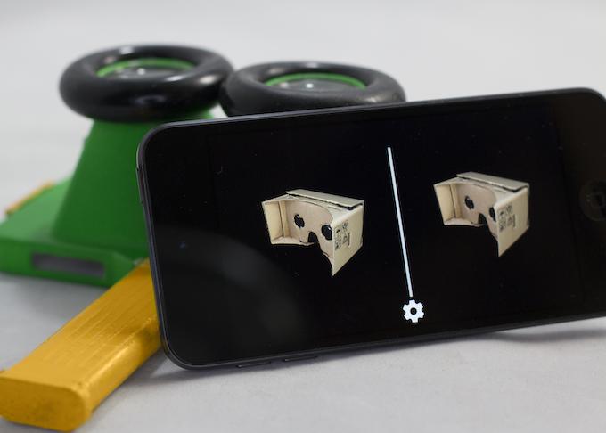 iPod Touch 6G running Google Cardboard