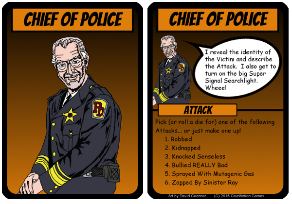 From regular Citizen to Chief of Police - it could happen to YOU!