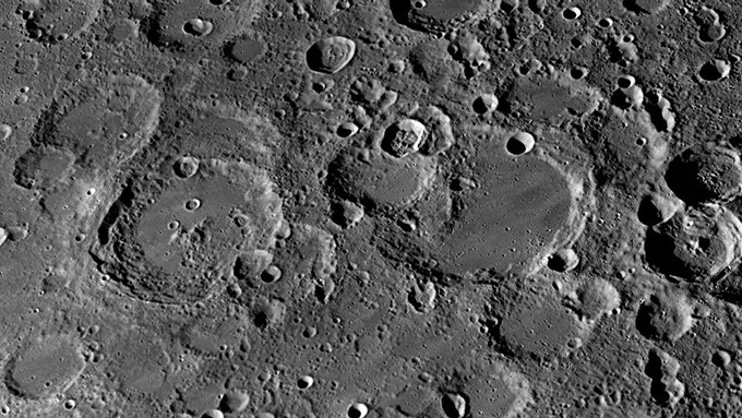 Moon Surface - Nasa