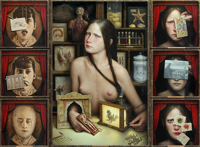"""""""Dies Irae"""" - Oil painting by Dino Valls"""