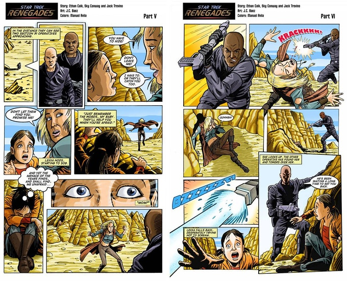 Comic Pages 5 and 6