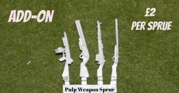 Pulp Weapon Sprue Add on.... £2 each