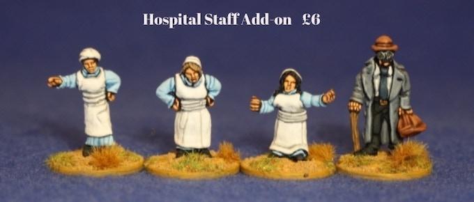 Hospital Staff Add-on...£6 per Pack
