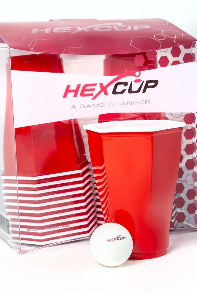 Set of Hexcups