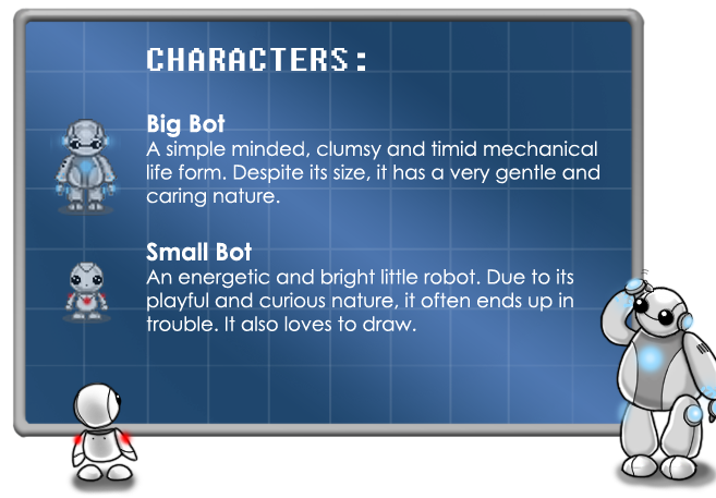 The Big Bot and The Small Bot