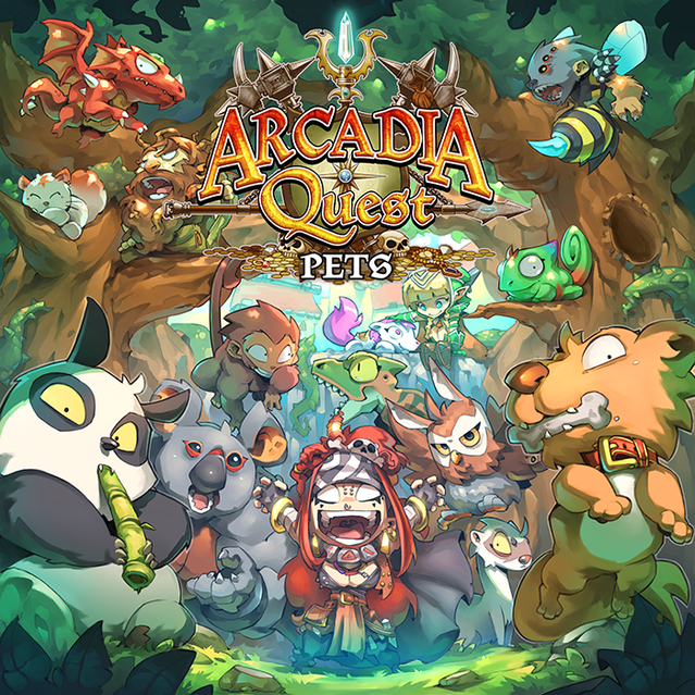 Arcadia Quest Inferno By Cmon Kickstarter