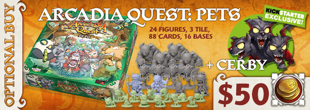 Arcadia Quest Inferno By Cmon Go Wild With Arcadia Quest Pets