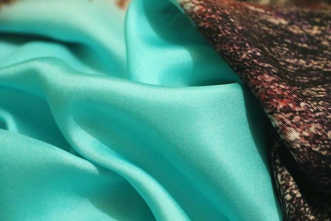 100% silk twill