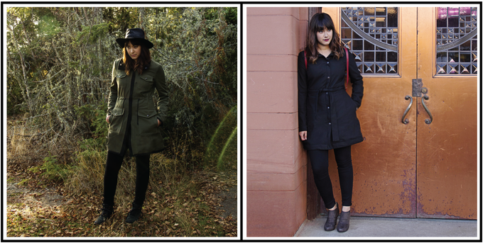 Go from nature to the city and back in one coat