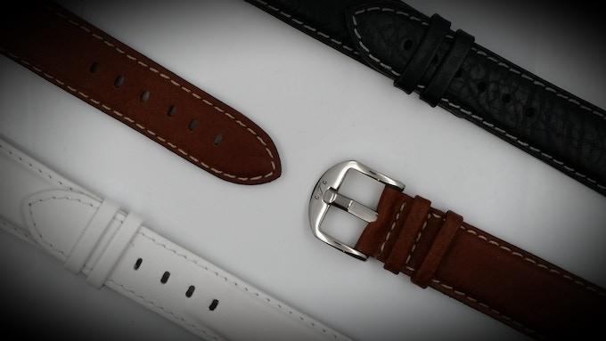 The GTG Watch Bull genuine Italian leather straps