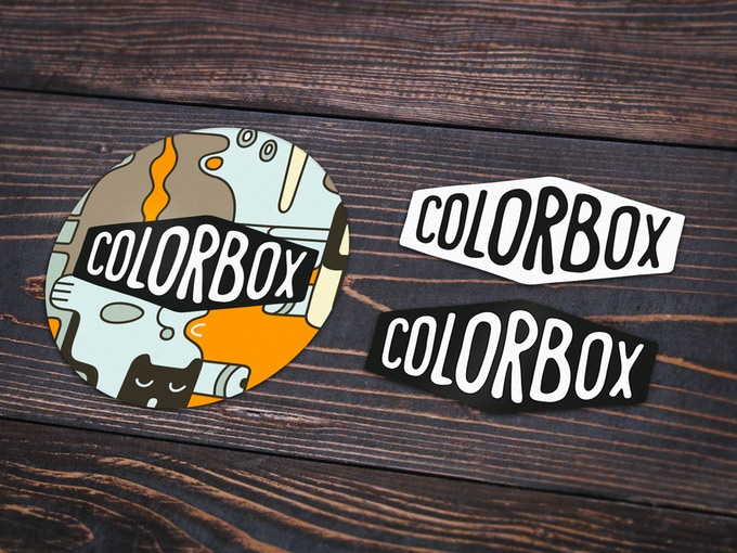 """""""Colorbox"""" stickers"""