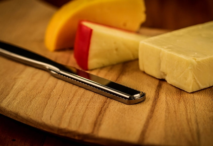 I've tested the cheese-slicer on every type of cheese I could find.