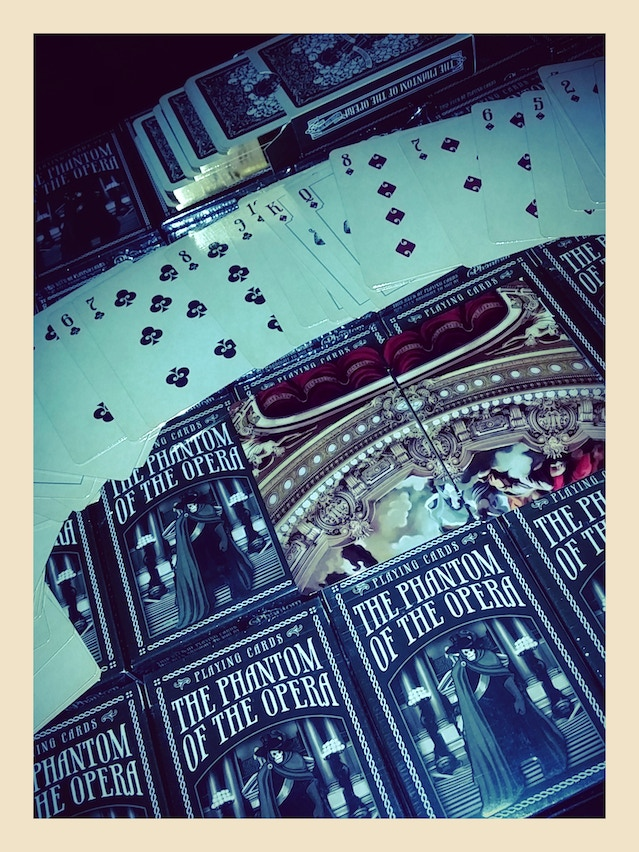The Phantom of the Opera Deck now on Etsy - Playing Card