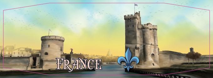 La Rochelle - Old World screen of France