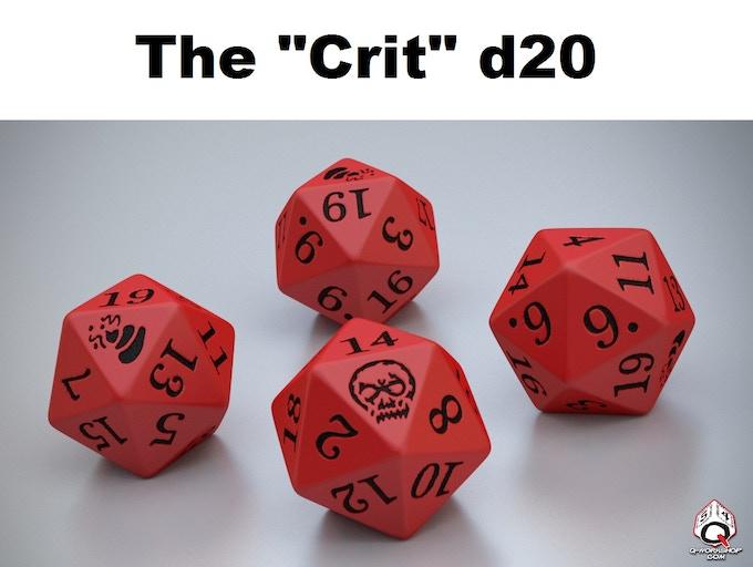 """The """"Crit"""" d20"""