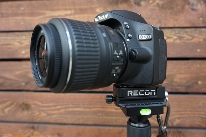 The Recon Tripod Head with QR Plate