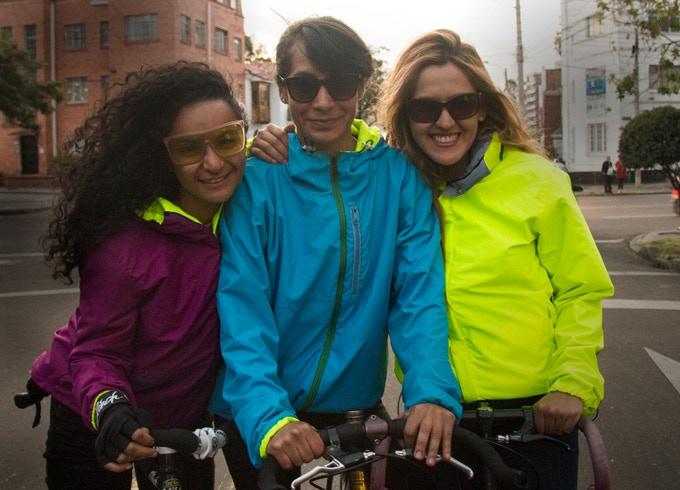 Heidy Garcia, La Negra y Angélica Montealegre, Bogotá
