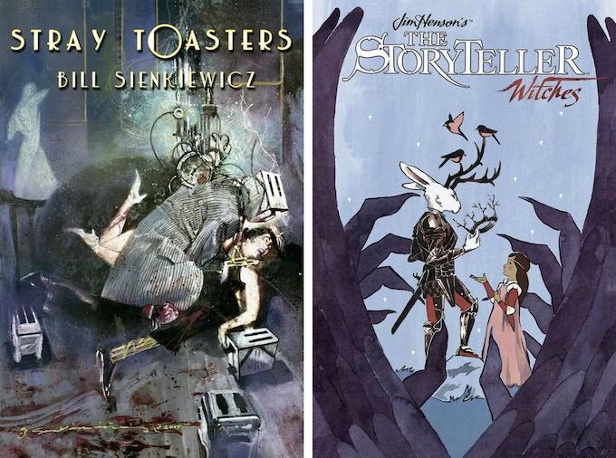 Bill Sienkiewicz, Marvel's Fantastic Four, X-men, & Star Wars - S.M. Vidaurri, Jim Henson's Storyteller