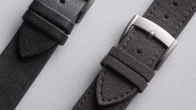 Element24 Premium & Minimal Watch with Alcantara & Leather