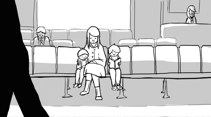 Storyboard by Hannah McMullen