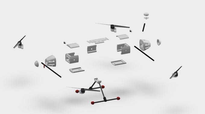 BBCopter Exploded View