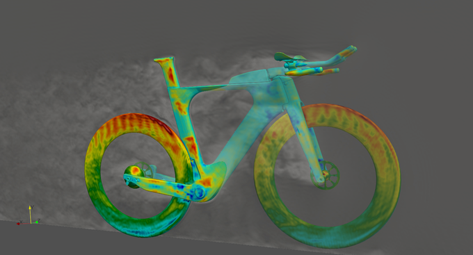 CFD testing on the Legend Disc version
