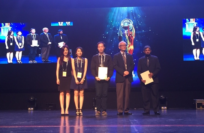 MAD Glass by DCES - Asia Pacific ICT Alliance Awards 2015 Merit Winner in Communications Category (awarded on 21st November, 2015)