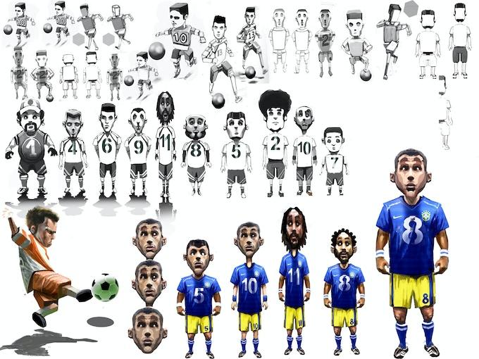 Player avatar concept art