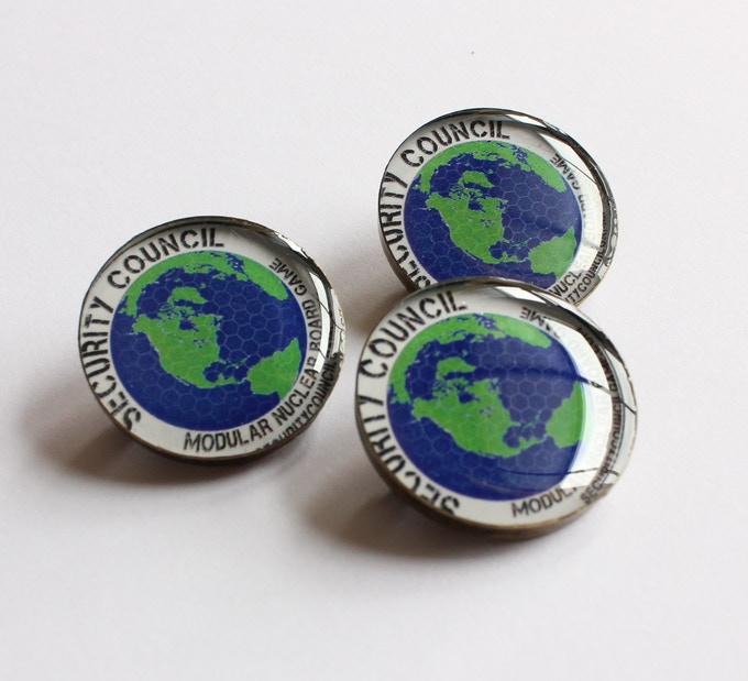Huge 1-inch Lapel Pins