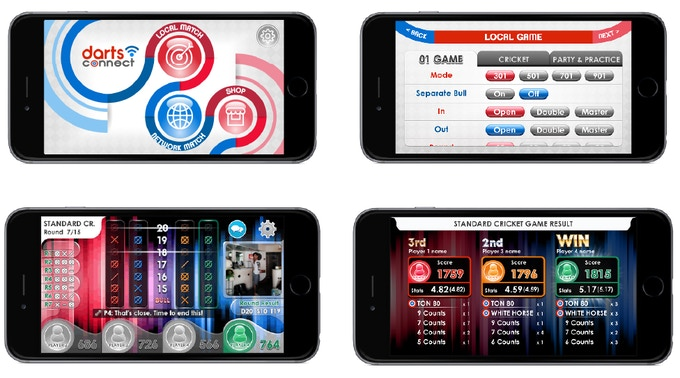 Darts Connect The World S First Smart Online Dartboard