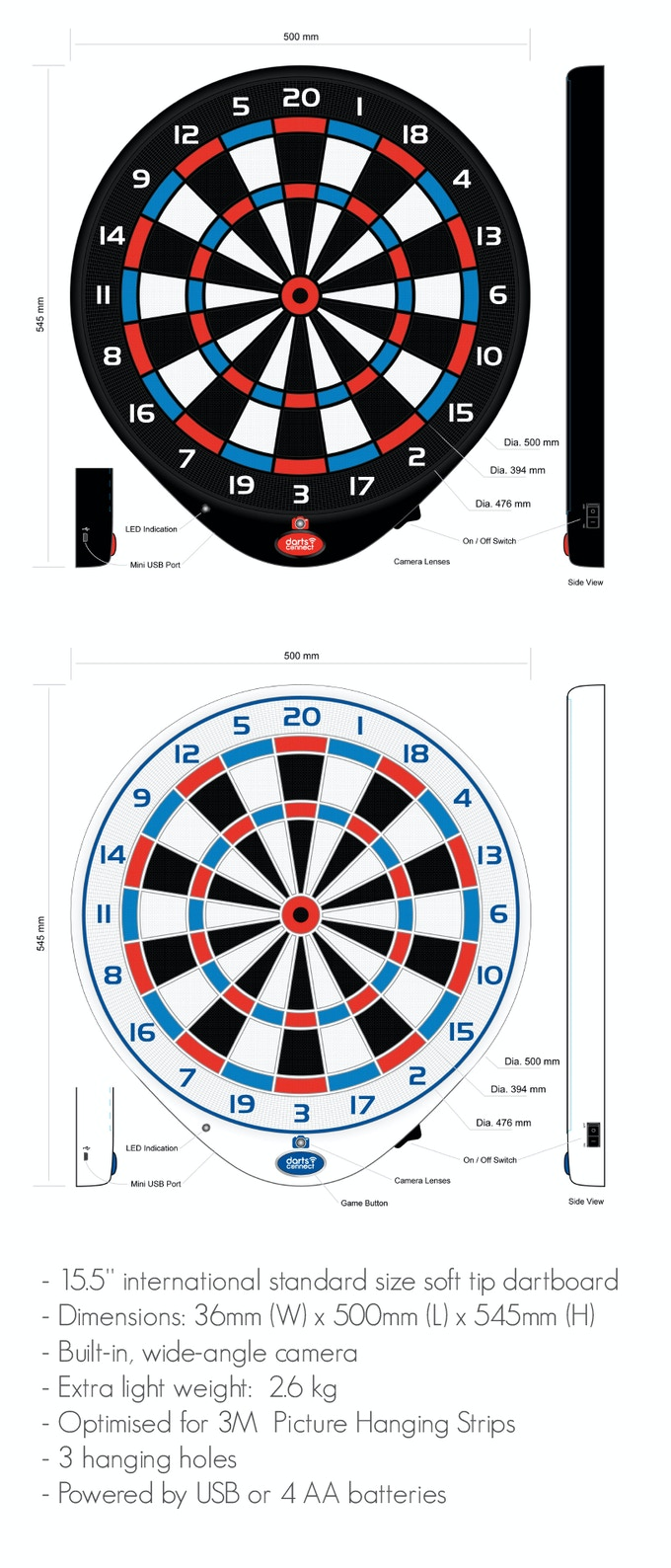 Darts Connect The Worlds First Smart Online Dartboard By Darts