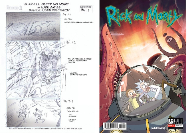 """Mike Collins,  Storyboard Artist of """"Doctor Who"""" ~ Julieta Colas, Cover Artist of """"Rick & Morty"""""""