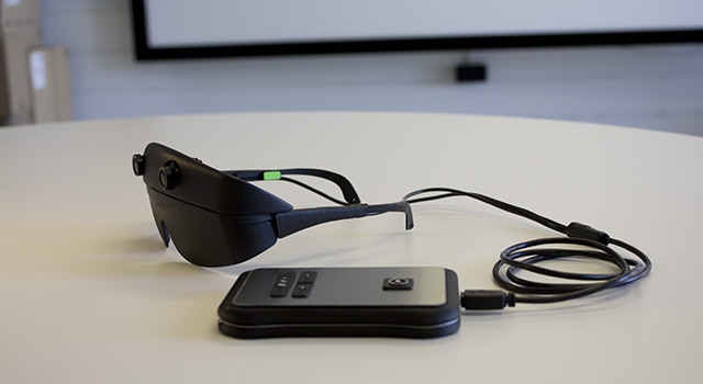 Eyesynth system. ErgonomicTesting Prototype.