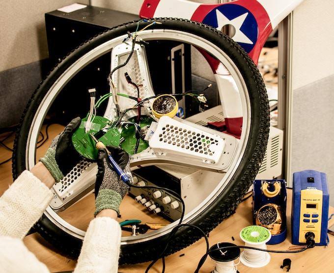 tweaking CENTINEL Wheel's intelligent dual motor controller