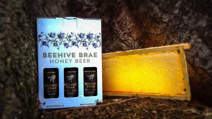 Our Limited Edition Beehive Brae Honey Beer Gift Pack