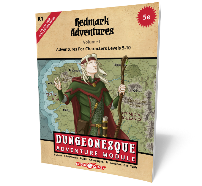 36 page old-school adventure module