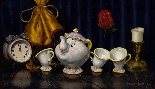 Clinton T. Hobart, Disney Fine Artist