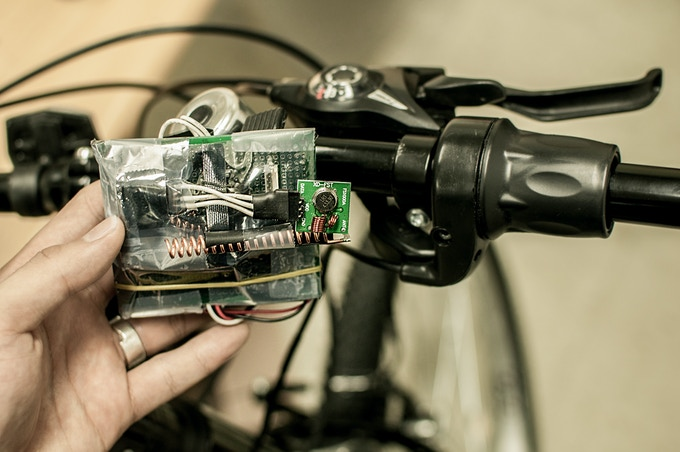functional prototype for the wireless throttle under development
