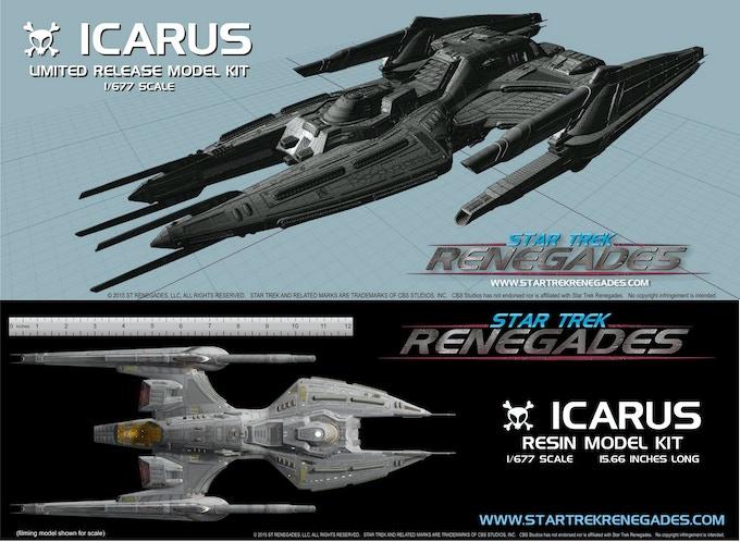 Exclusive Icarus Model Kit