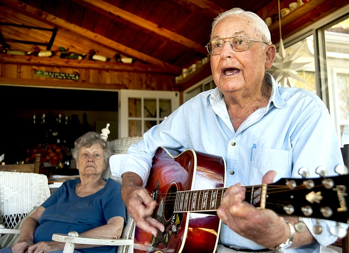 Earl Fulcher is at home with a guitar as much as he is in the engine room of a fishing boat, a ferry boat, a head boat, a research vessel, or a Corps of Engineers workboat.