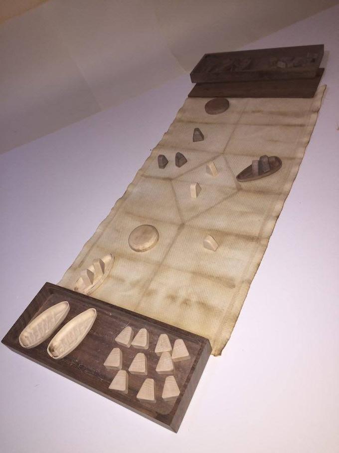 The HIRÞ WOOD Gameplay (Prototype)